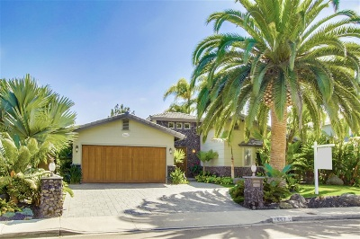 Solana Beach Single Family Home For Sale: 663 Dell Street