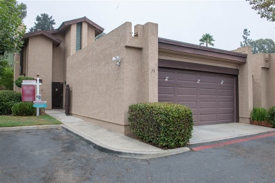 Escondido CA Townhouse For Sale: $345,000