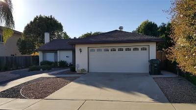 Escondido Single Family Home For Sale: 1731 Emogene Pl