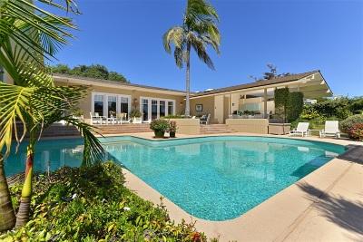 La Jolla Single Family Home For Sale: 5931 Citadel Circle