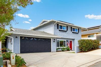 Oceanside Single Family Home For Sale: 2943 Macdonald St