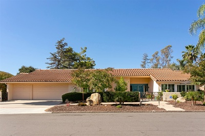 Single Family Home For Sale: 13421 Calle Colina