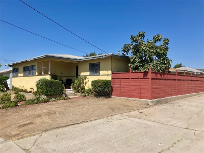 San Diego Single Family Home For Sale: 5114 Logan Ave
