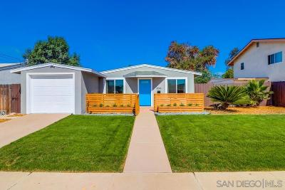 Bay Park, Bay Ho Single Family Home For Sale: 3546 Hatteras Ave