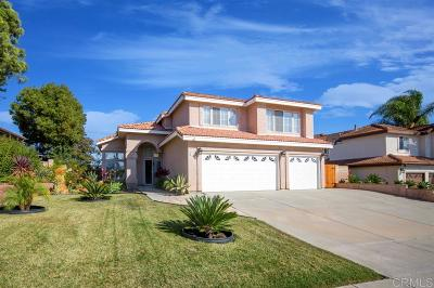 Oceanside Single Family Home For Sale: 5114 Via Malaguena