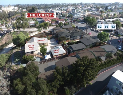 Hillcrest Multi Family 2-4 For Sale: 3732 10th Ave