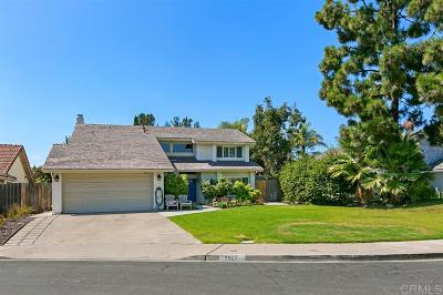 Carlsabd, Carlsbad Single Family Home For Sale: 7927 Arbusto Ct