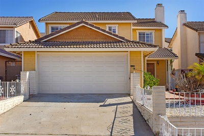 Escondido Single Family Home For Sale: 2123 N N Mammoth Pl