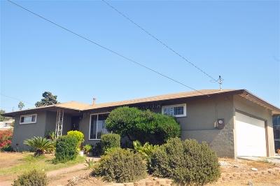 San Diego Single Family Home For Sale: 5439 Cervantes Ave