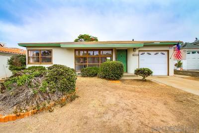 Single Family Home For Sale: 4450 Coronado Avenue