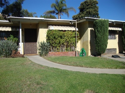San Diego Single Family Home For Sale: 3965 College Ave.