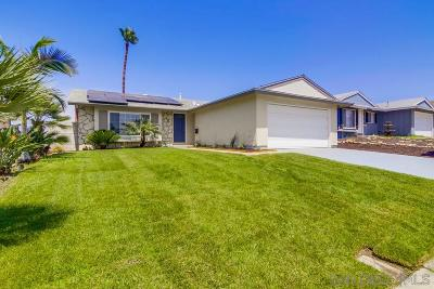 San Diego CA Single Family Home For Sale: $499,000