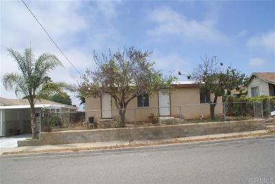 Oceanside Single Family Home For Sale: 1332 Lemon