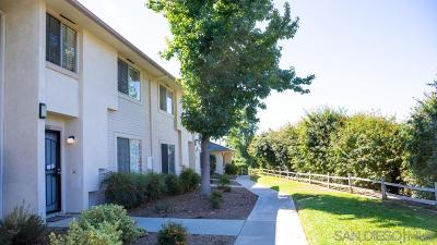 Santee Townhouse For Sale: 10660 King Phillip Ct