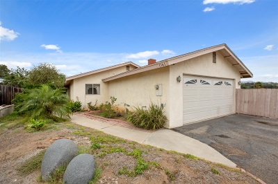 Vista Single Family Home For Sale: 1161 Mayberry Ln