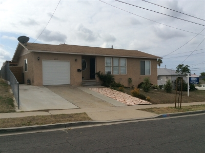 San Diego CA Single Family Home For Sale: $475,000