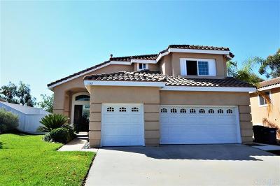 San Marcos Single Family Home Sold: 1187 Avenida Azul
