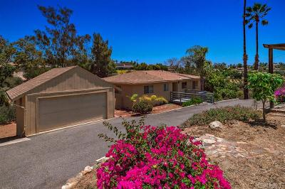 Single Family Home For Sale: 2505 Via Rancheros