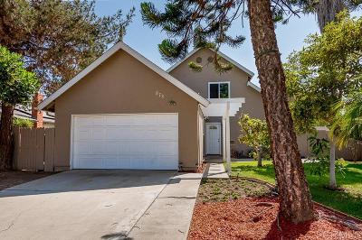 Rancho Del Rey Single Family Home For Sale: 978 Valencia Ct