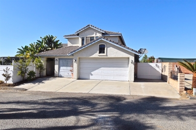 Vista Single Family Home For Sale: 1325 Clear Crest Cir