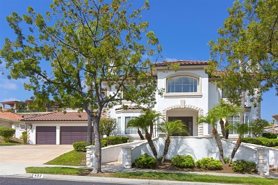 Single Family Home For Sale: 402 Milagrosa Circle