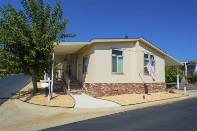 Citrus Gardens, Via Verde Estates, Lawrence Welk, Champagne Village, Rancho Escondido Mobile/Manufactured For Sale: 525 W El Norte Pkwy #241