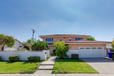 San Diego Single Family Home For Sale: 5117 Remington Rd