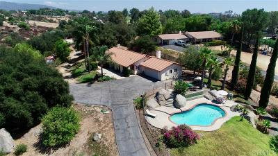 Single Family Home For Sale: 27187 Latigo Rd