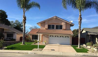 Single Family Home For Sale: 14066 Paseo Cevera