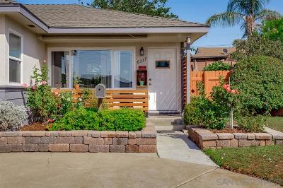 San Diego Single Family Home For Sale: 6337 49th Street