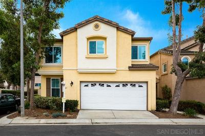 San Marcos Single Family Home Sold: 561 Summerholly Drive