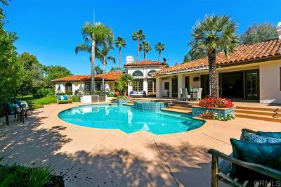 Rancho Santa Fe Single Family Home Pending: 16874 Circa Del Sur