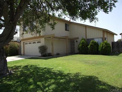 Oceanside Single Family Home For Sale: 4587 Mardi Gras