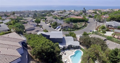 La Jolla, University City Single Family Home For Sale: 1032 Skylark Drive