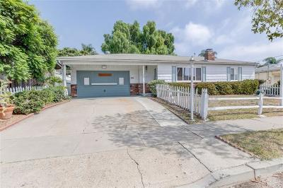 Chula Vista Single Family Home For Sale: 485 Corte Helena Ave