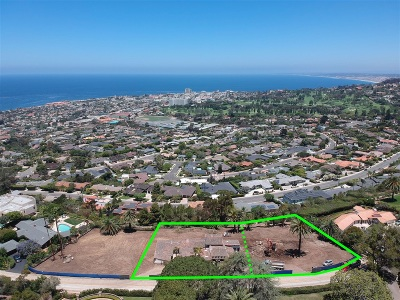 San Diego County Residential Lots & Land For Sale: 1120 Muirlands Dr #LOTS 16&