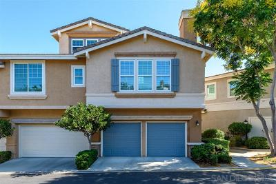 Rancho Bernardo, San Diego Townhouse For Sale: 12057 World Trade Drive #2