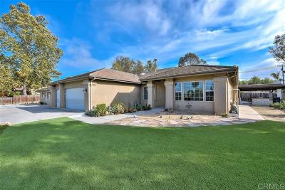 Vista Single Family Home For Sale: 870 S Melrose