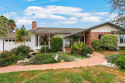 Single Family Home Back On Market: 1219 Via Encinos Drive