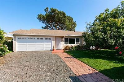 Santee Single Family Home For Sale: 8611 Louis Ln