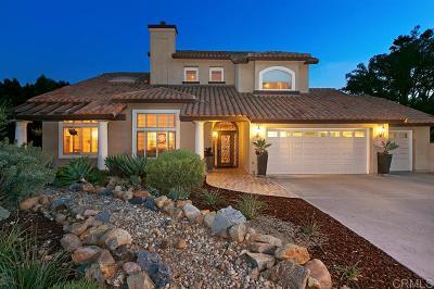 La Mesa Single Family Home For Sale: 4102 Mill Valley Ct.