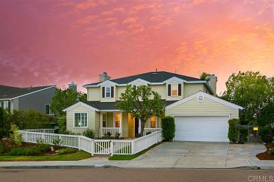 La Costa Valley Single Family Home Sold: 2896 Camino Serbal