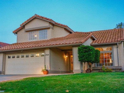 Escondido Single Family Home For Sale: 2154 Shadetree