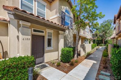 Carlsbad Attached Sold: 6188 Citracado Cir