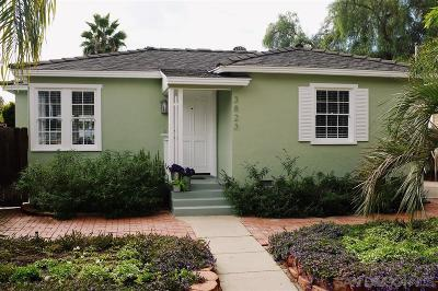 Norma Heights, Normal Heights Single Family Home For Sale: 3823 Edna Pl.