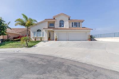 Rancho Del Rey Single Family Home For Sale: 742 Plaza Miroda