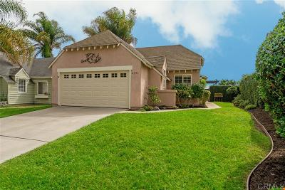 Carlsbad Single Family Home Sold: 4571 Chancery Ct.
