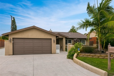 Carlsbad Single Family Home For Sale: 1812 Butters Road