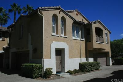 Chula Vista Townhouse For Sale: 1877 Via Capri