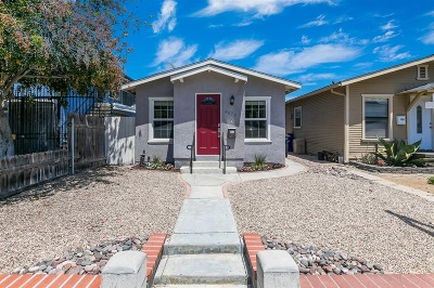 Normal Heights Single Family Home For Sale: 4579 36th St